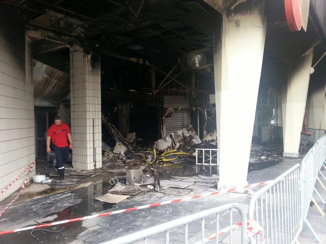 Deze Joodse apotheek werd zondag 20 juli in brand gestoken