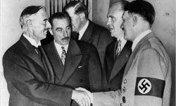 Chamberlain ontmoet Hitler 1938